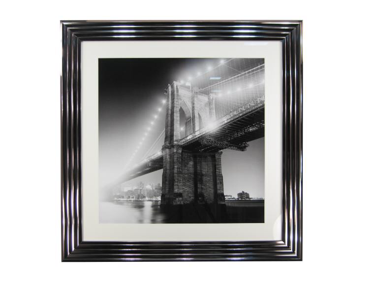10750 Brooklyn Bridge 97 x 97cm
