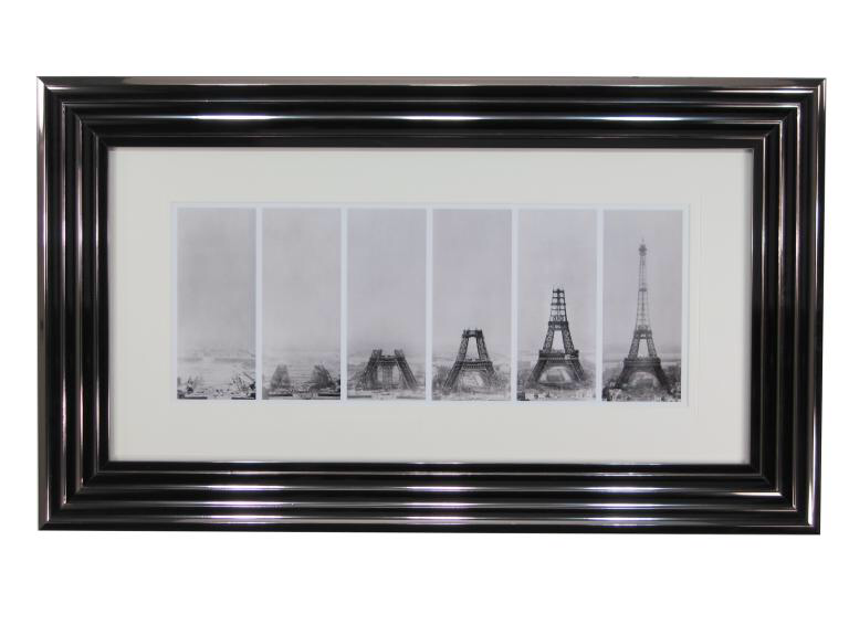 10767 Eiffel Construction 91 x 53cm