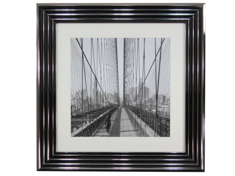 10770 Brooklyn Bridge Sun PM 71 x 71cm
