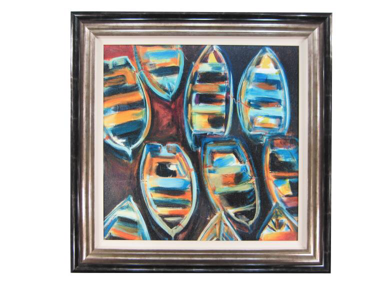 10964 Boat Pods 88 x 88cm