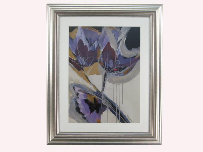 10986 Floral Impressions II 71 x 86cm