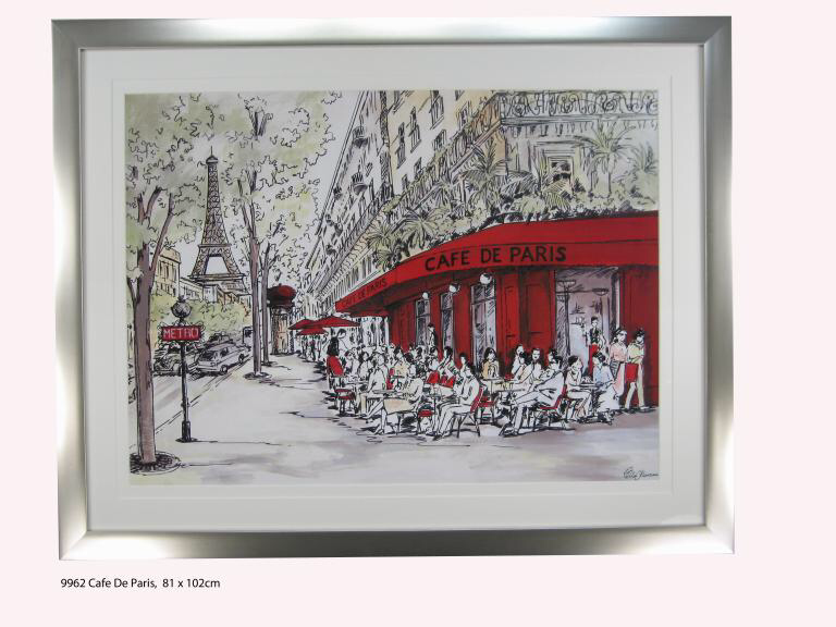 9962 Cafe de Paris 102 x 81cm