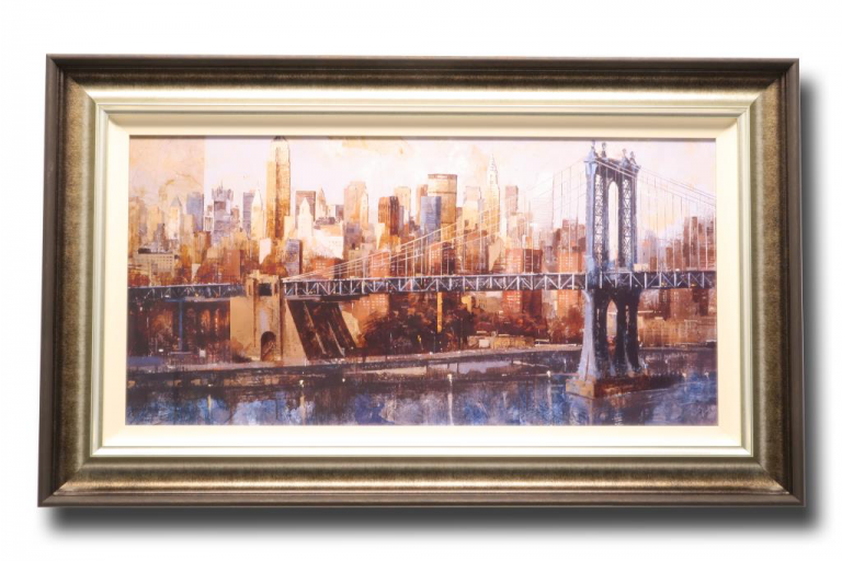 13457 Manhattan Bridge 112 x 66cm