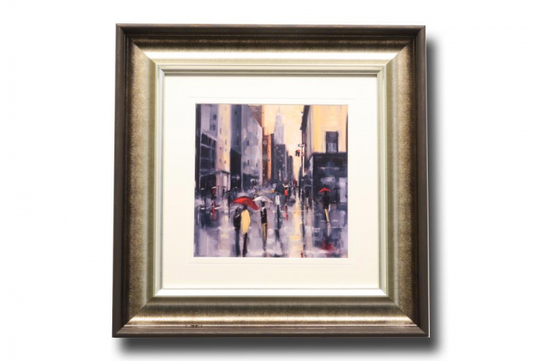13473 New York Cloudburst 56 x 56cm