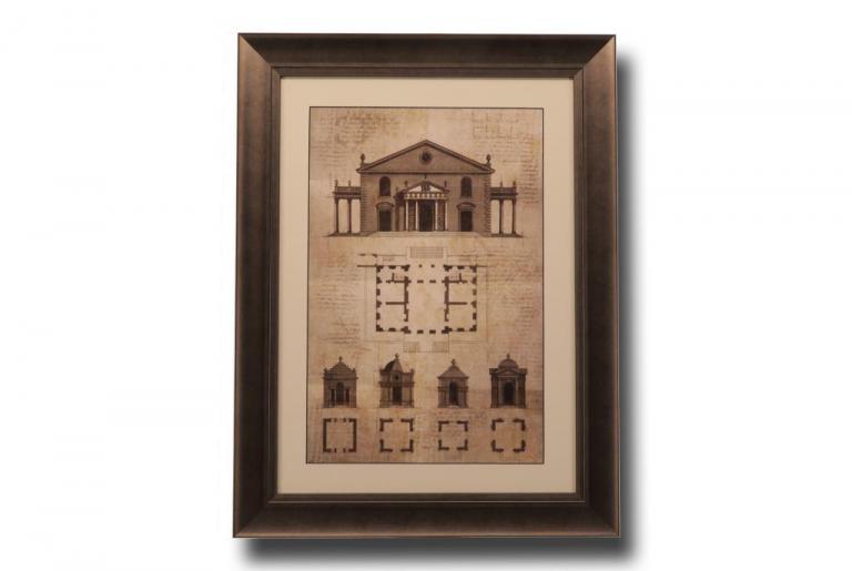 13506 Architectural Sketch II 64 x 84cm