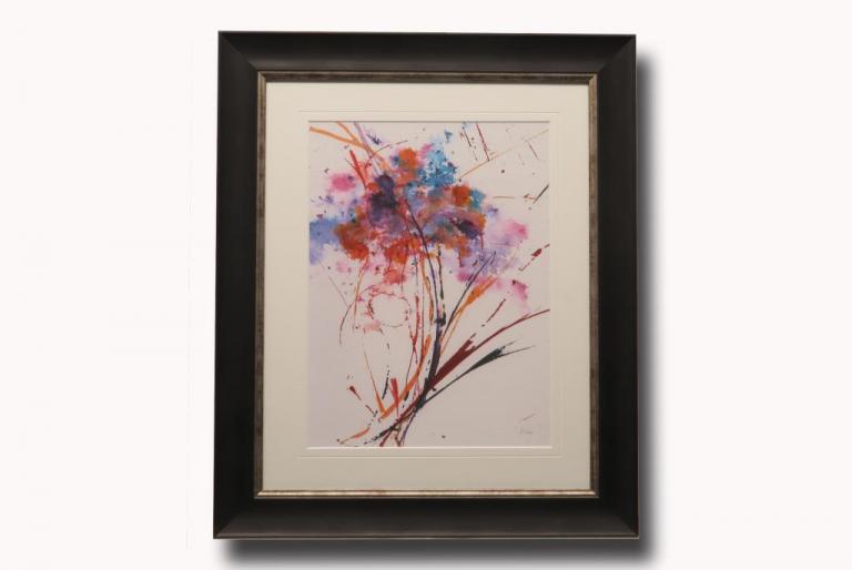 13509 Floral Explosion I 56 x 66cm