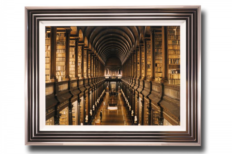 13605 Library at Trinity 97 x 76cm