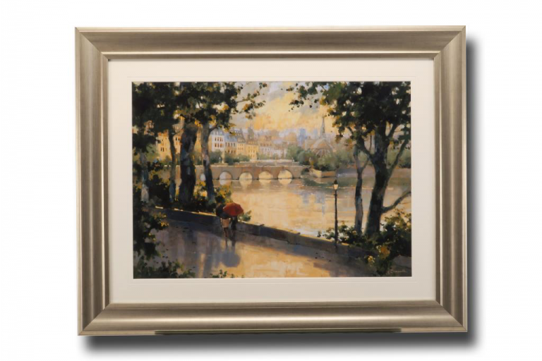 13630 Paris Evening 96 x 76cm