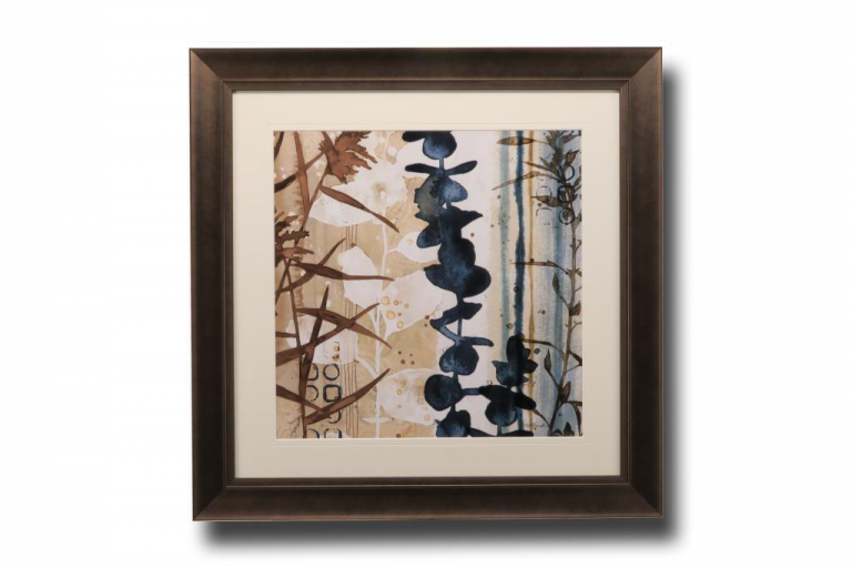 13633 Watermark Foliage 81 x 81cm