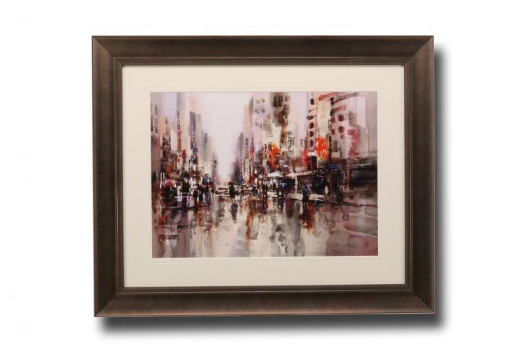 13635 City Rain I 83 x 68cm