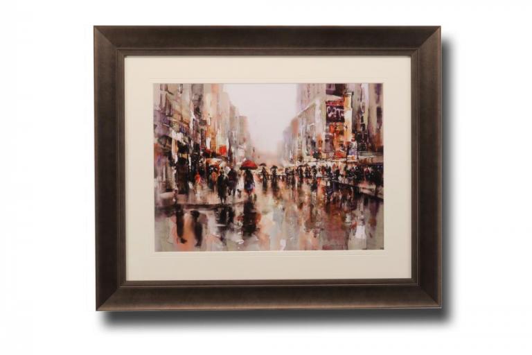 13636 City Rain II 83 x 68cm