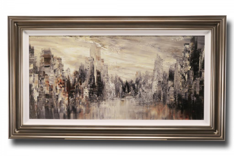 13651 City of the Century 120 x 69cm