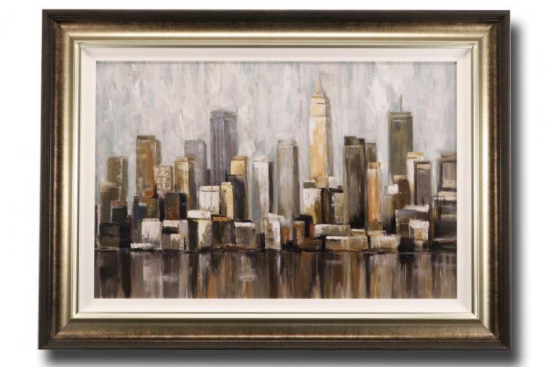 13660 Cityscape 112 x 81cm