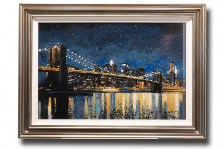 13662 Bright City Lights 112 x 81cm