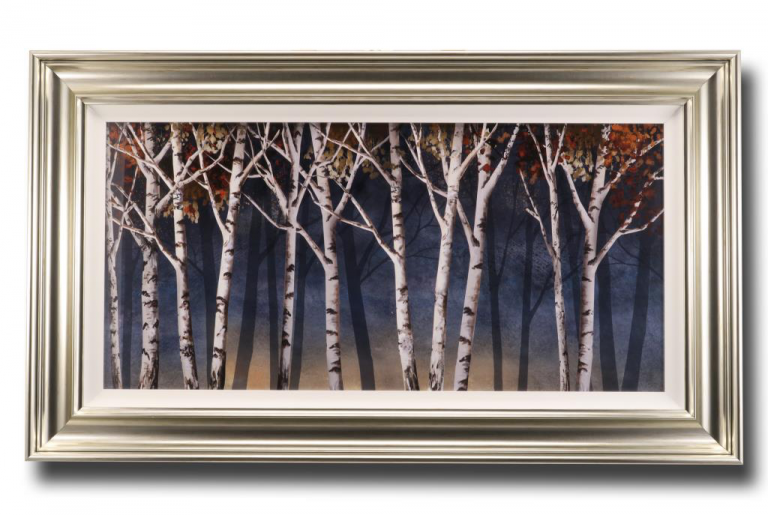 13664 Birch Shadows 119 x 68cm