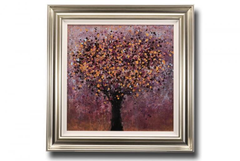 13667 Shimmering Tree 90 x 90cm