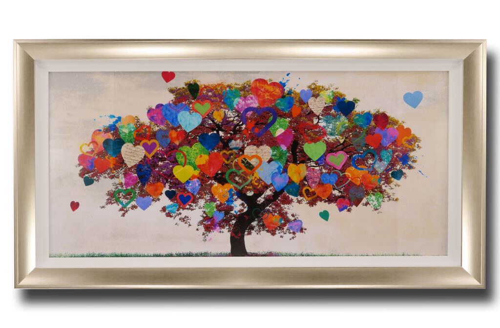 13688 Tree of Love 114 x 63cm