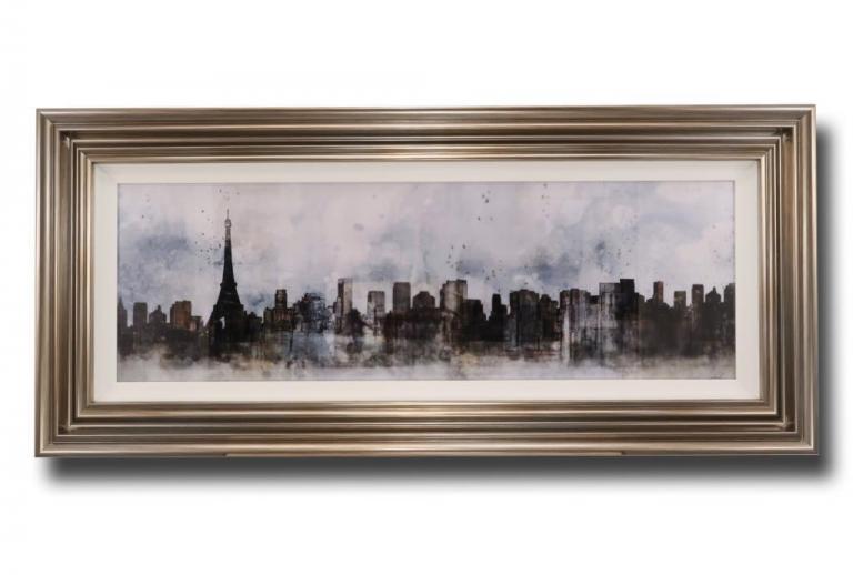 13689 Modern Paris Skyline 112 x 51cm