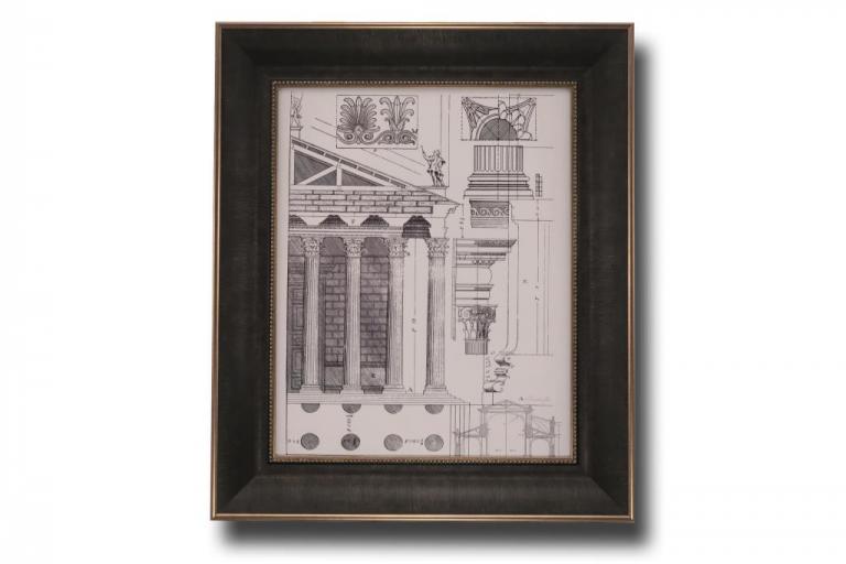 13692 Column Detail II 56 x 66cm