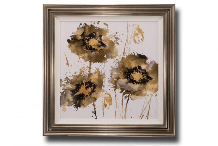13709 Flower Burst Trio 89 x 89cm