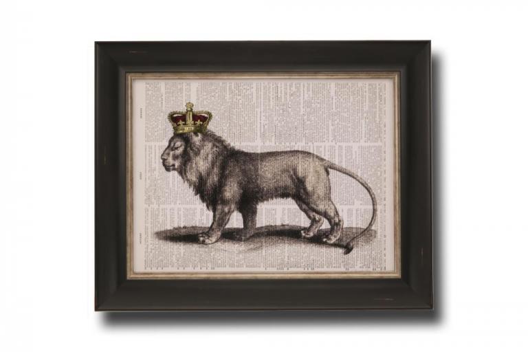 13717 Majestic Lion 51 x 41cm
